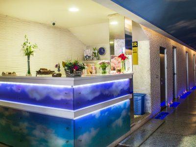 СПА рецепция на хотел Двореца