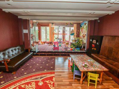 Детски кът и места за игра в хотел